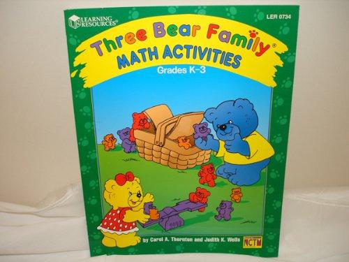 Three Bear Family Math Activities