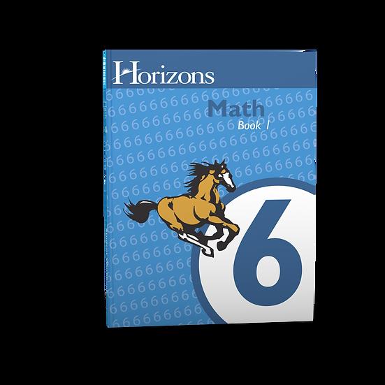 Horizon's Math 6th Grade Student Book 1