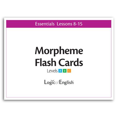 LOE Morpheme Flash Cards