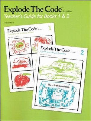 Explode the Code Teacher's Guide for 1 & 2