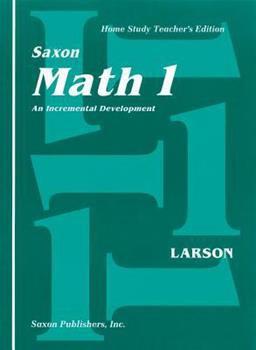 Saxon Math 1 Teacher's Edition