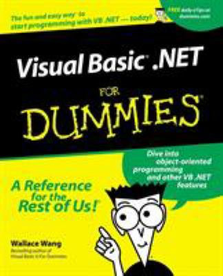 Visual Basic .Net for Dummies