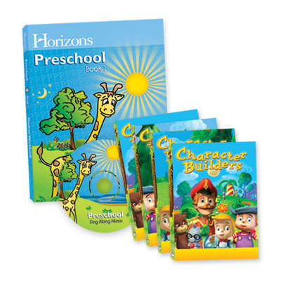 Horizons Preschool Curriculum & Multimedia Set