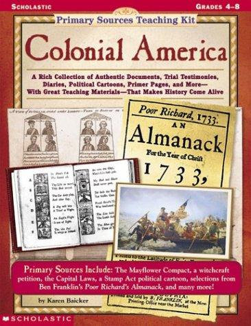 Primary Sources Teaching Kit: Colonial America