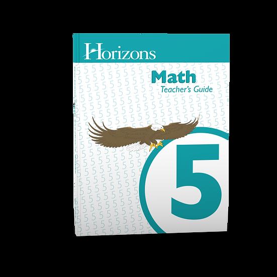 Horizons Math 5th grade Teacher's Guide