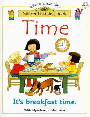 Time, Sticker Learning Book