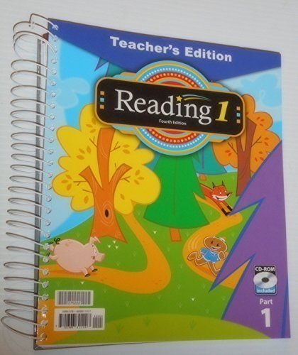 BJU Reading 1 Teacher's Edition w/CD