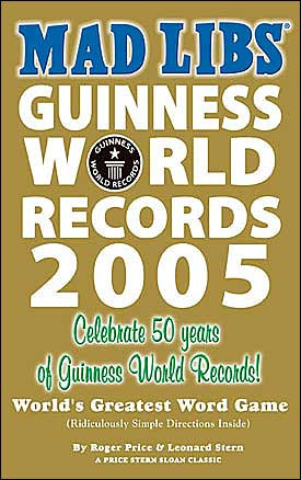 Guinness World Records Mad Libs