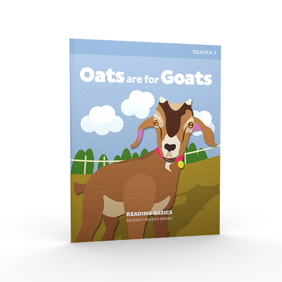 Lifepac Language Arts Grade 1 Reading Basics Book 3: Oats Are For Goats