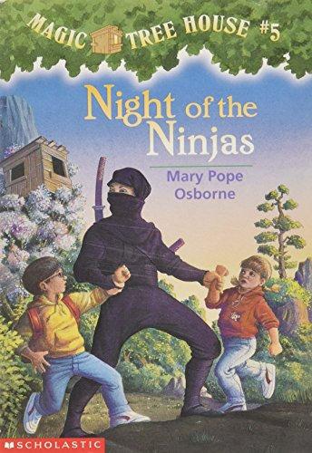 Night of the Ninjas (The Magic Tree House #5)