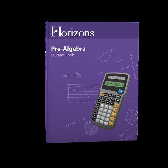 Pre-Algebra Student Book