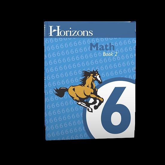 Horizon's Math 6th Grade Student Book 2