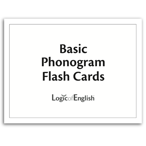 LOE Basic Phonogram Flash Cards
