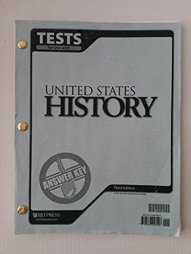 US History Test Answer Key