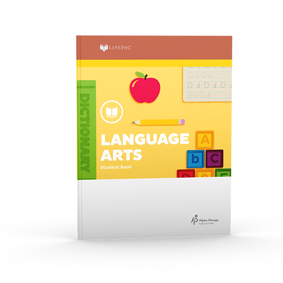 Lifepac Language Arts Grade 1 Teacher's Guide: Part 1