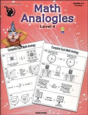 Math Analogies Level 4