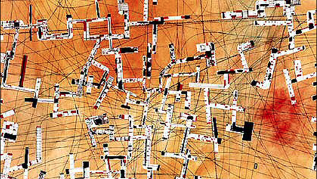 ON CITIES (V). A collage of notes.