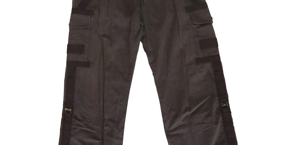 Dolce Gabbana Black Bondage Cargo Pants