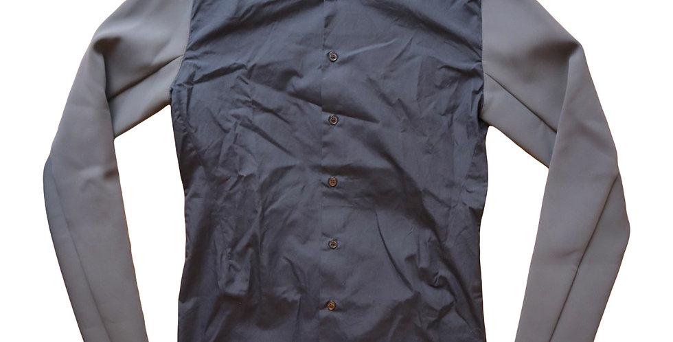 Raf Simons AW09 Neoprene Sleeve Shirt