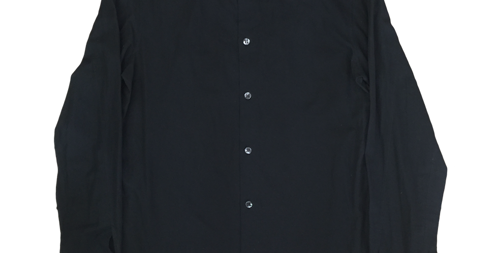 Helmut Lang 2000s Semi-Sheer French Cuff Shirt sz 41