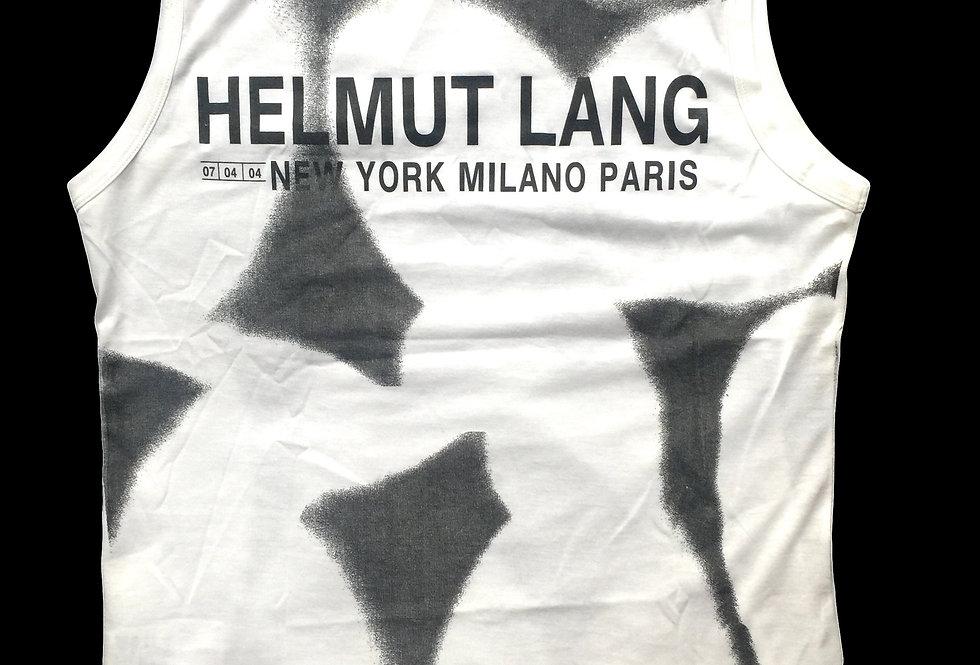 Helmut Lang SS04 Logo Tank Top