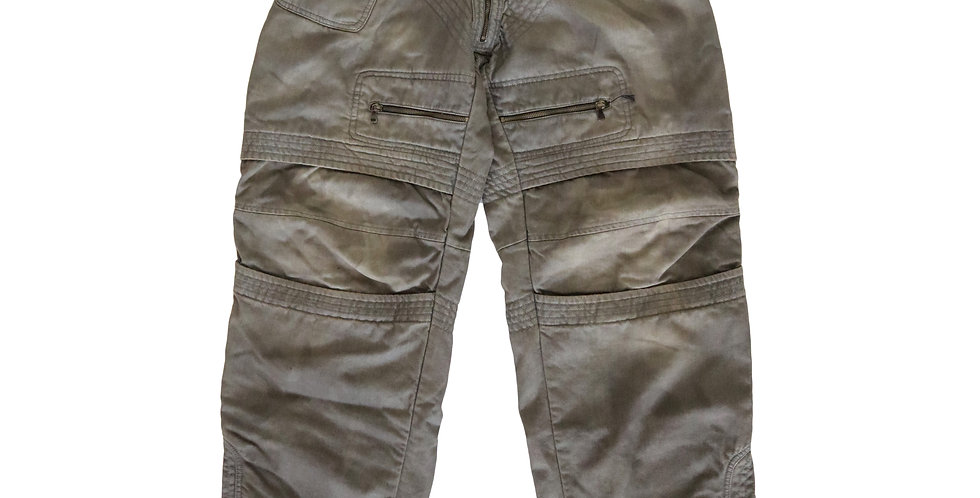 D&G AW10 Distressed Denim Ski Pants