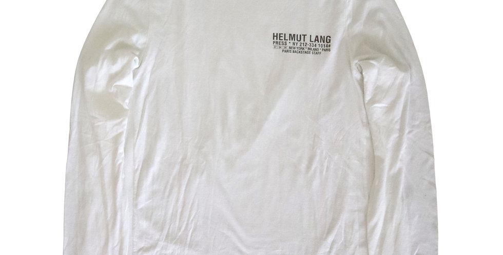 Helmut Lang 2004 Backstage Staff Shirt
