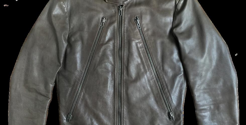 Maison Martin Margiela Line 14 SS10 5 Zip Leather Jacket sz 50