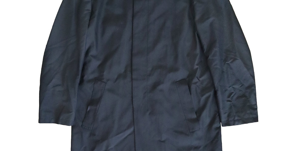 Helmut Lang Waterproof Silk Mac sz 50