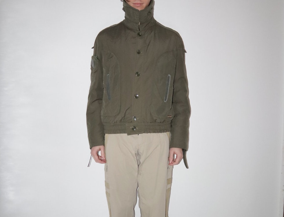 "D&G Green ""Goggle"" Window Bomber"
