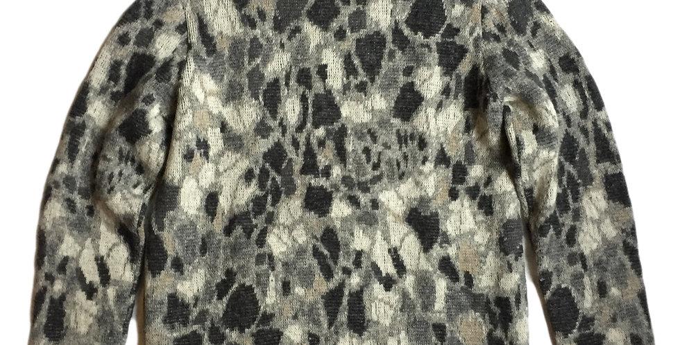 Jil Sander AW08 Marble Print Sweater
