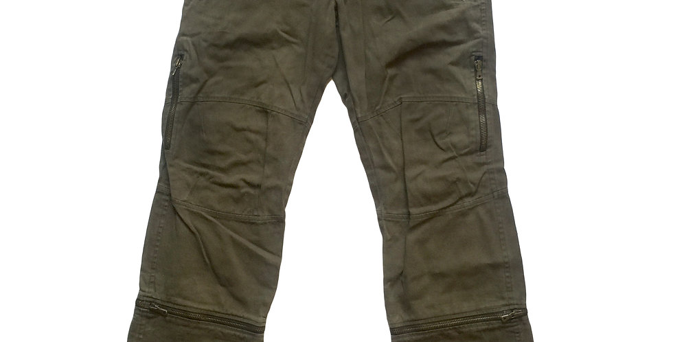 Dolce & Gabbana AW03 Convertible Moto Pants