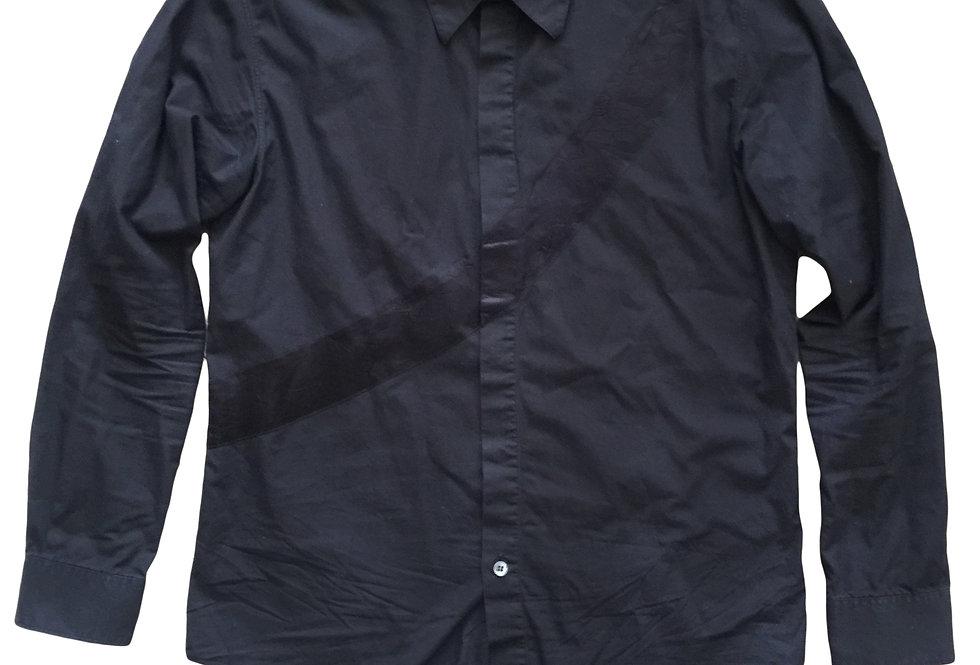 Helmut Lang 96/97 Satin Stripe Shirt sz 50