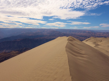 Песчаная дюна. Сендбординг.