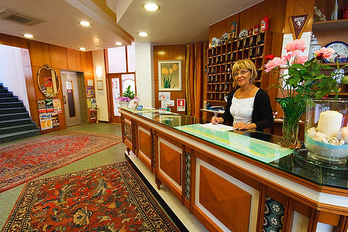 the staff at hotel jet is friendly and professional, and will be happy to welcome you in jesolo