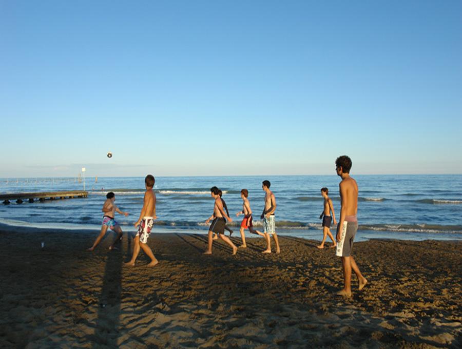 calcio spiaggia