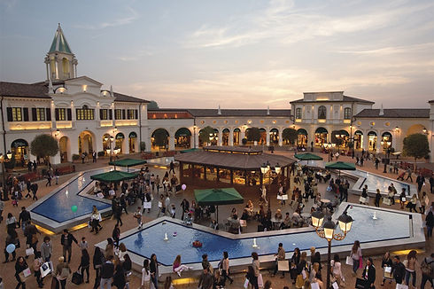 veneto designer outlet is located 25 km away from hotel jet, three stars in jesolo