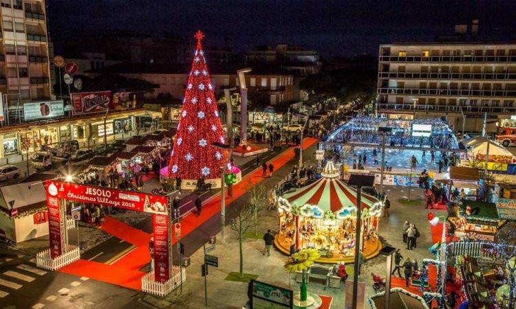 Jesolo Beach Christmas Village