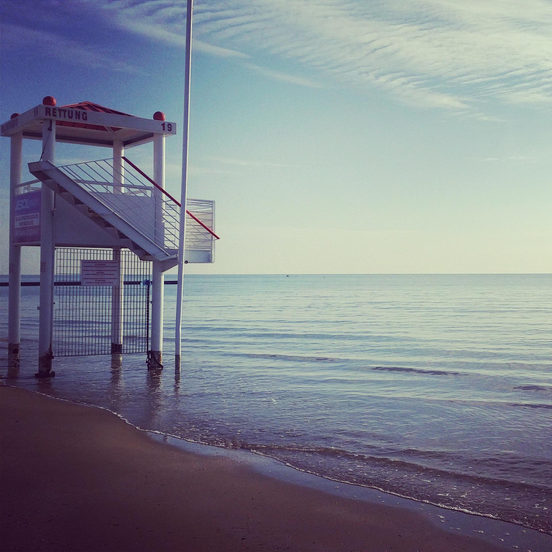 torretta autunno spiaggia