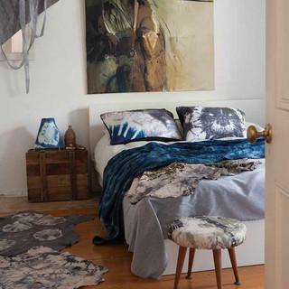Shibori bedroom