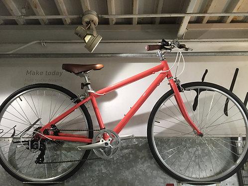 ピンク クロスバイク
