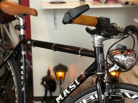 自転車カスタム ブルホーン化とかドロップハンドル化とか