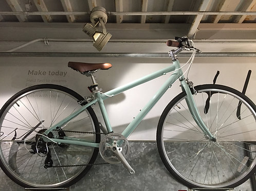 ミントグリーン クロスバイク