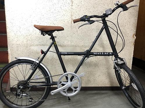 MALLACA マラッカ マットブラック 20 フォールディング/折り畳み自転車