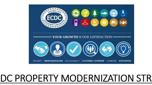 ECDC Property Modernisation Strategy