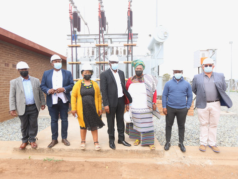 MEC Mvoko launches a multi-million Substation in Komani
