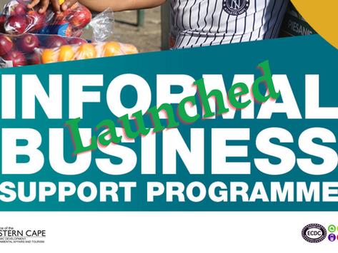 MEC Mvoko launches a R40 million Informal Business Support Programme
