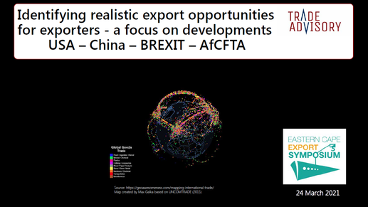 Identifying realistic export opportunities for exporters