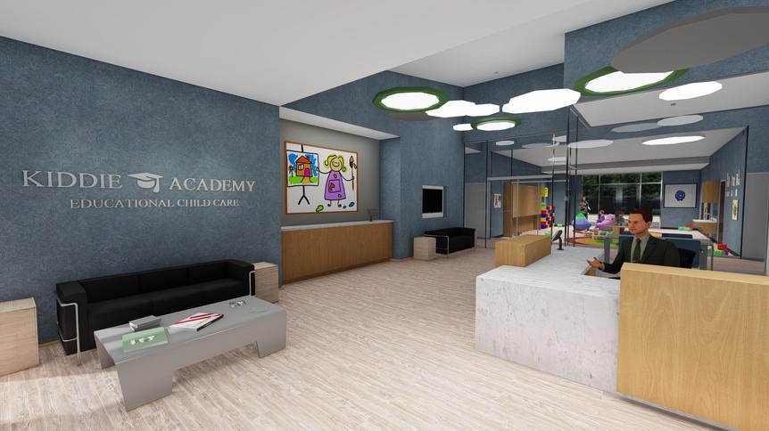 Kiddie Academy Final Renders__Main Lobby
