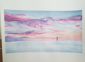Painting of San Francisco Sky